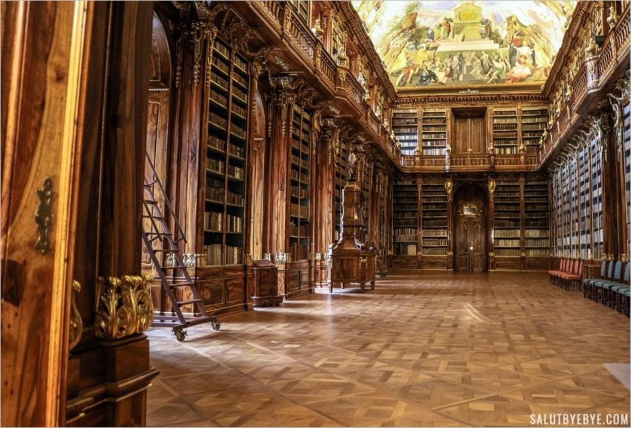 Bibliothèque du monastère de Strahov à Prague - Salle de Philosophie