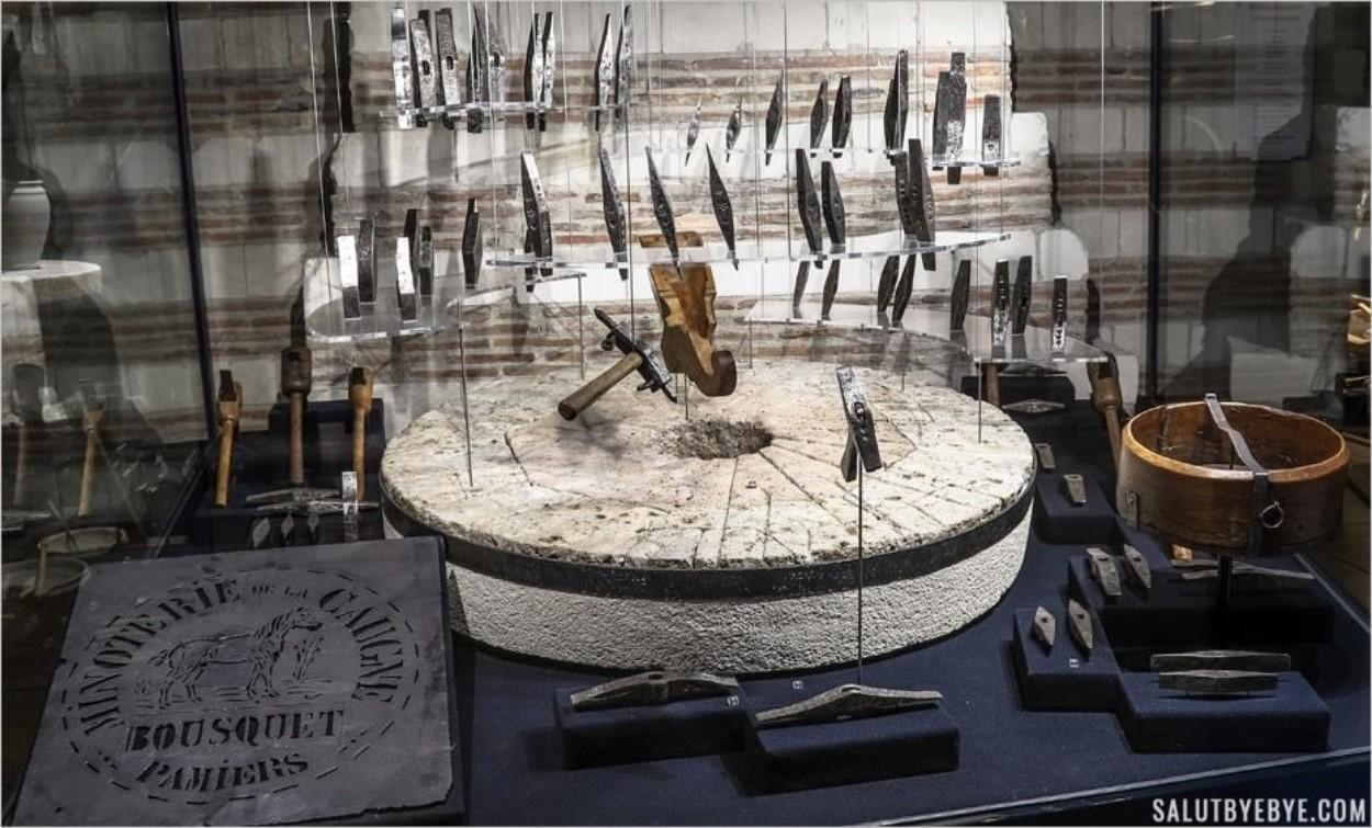 Le tailleur de meules - Musée de l'Outil, Troyes