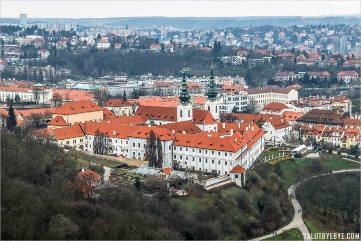 Le monastère de Strahov à Prague