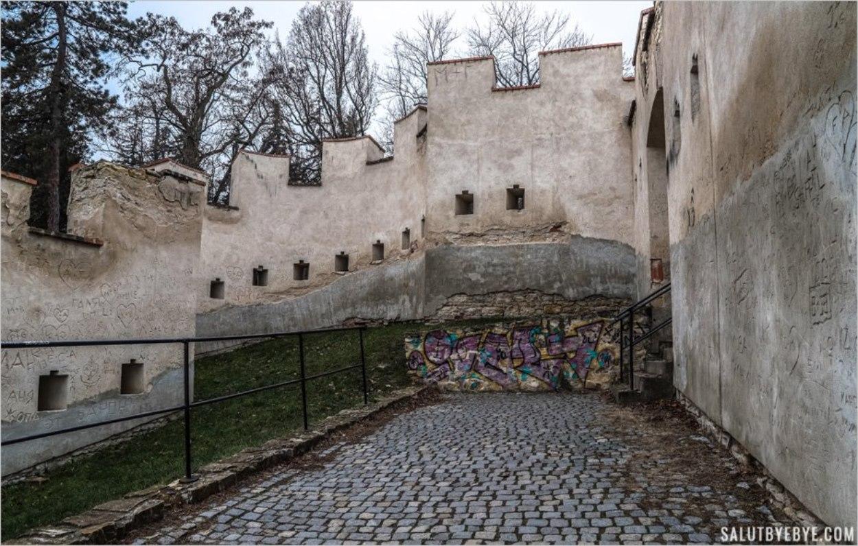 Le Mur de la Faim sur la colline de Petrin