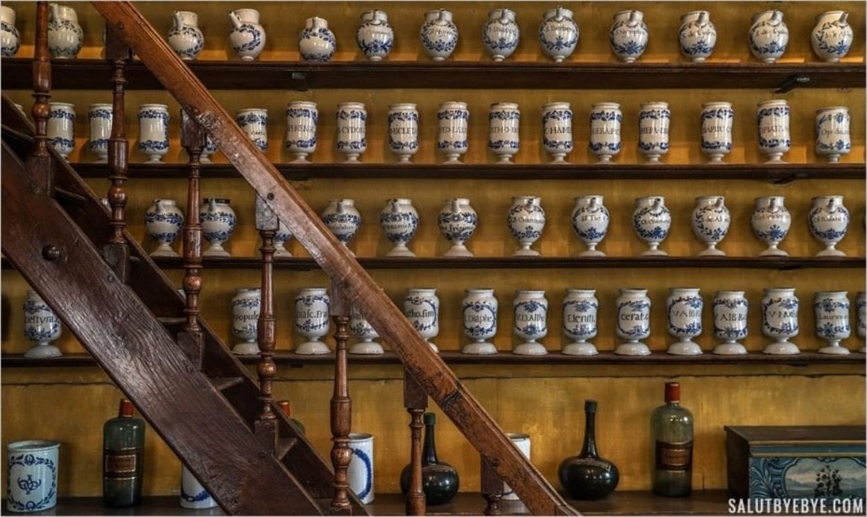 Apothicairerie de Troyes - Musée de la Pharmacie