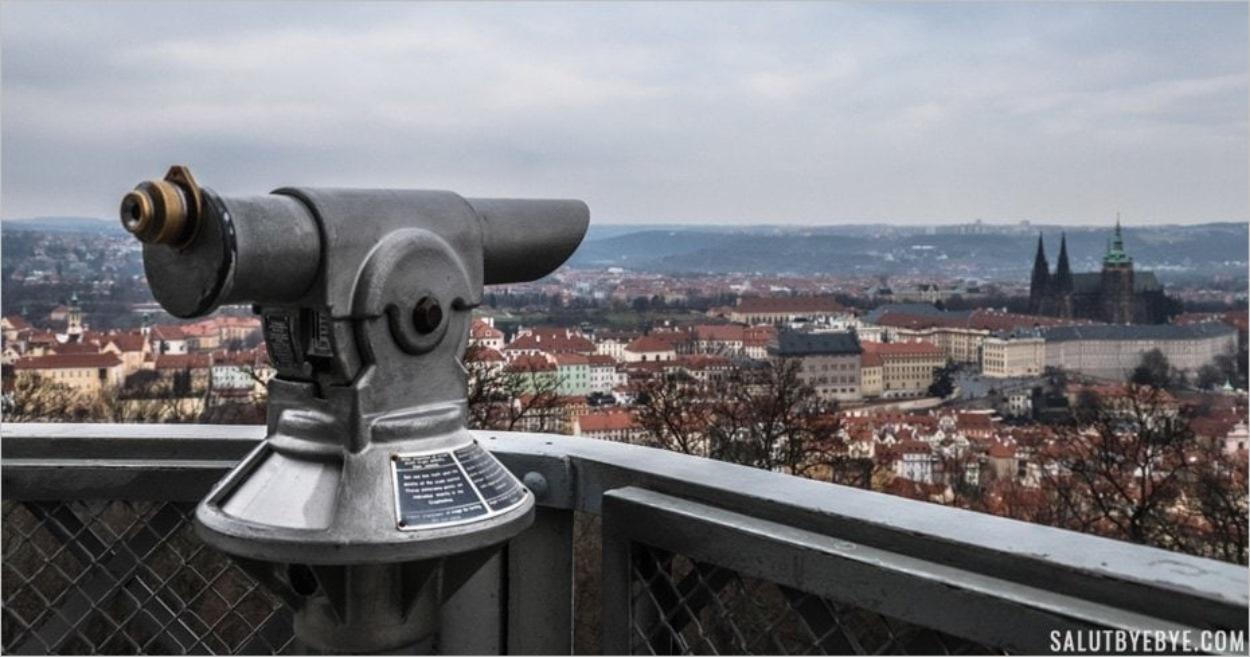 La Tour d'observation de Petrin à Prague