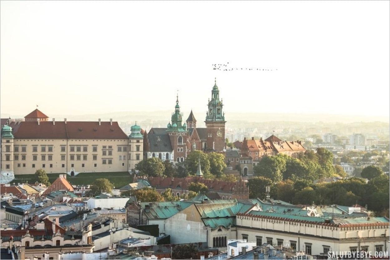 7 endroits à visiter pour profiter d'une belle vue de Cracovie