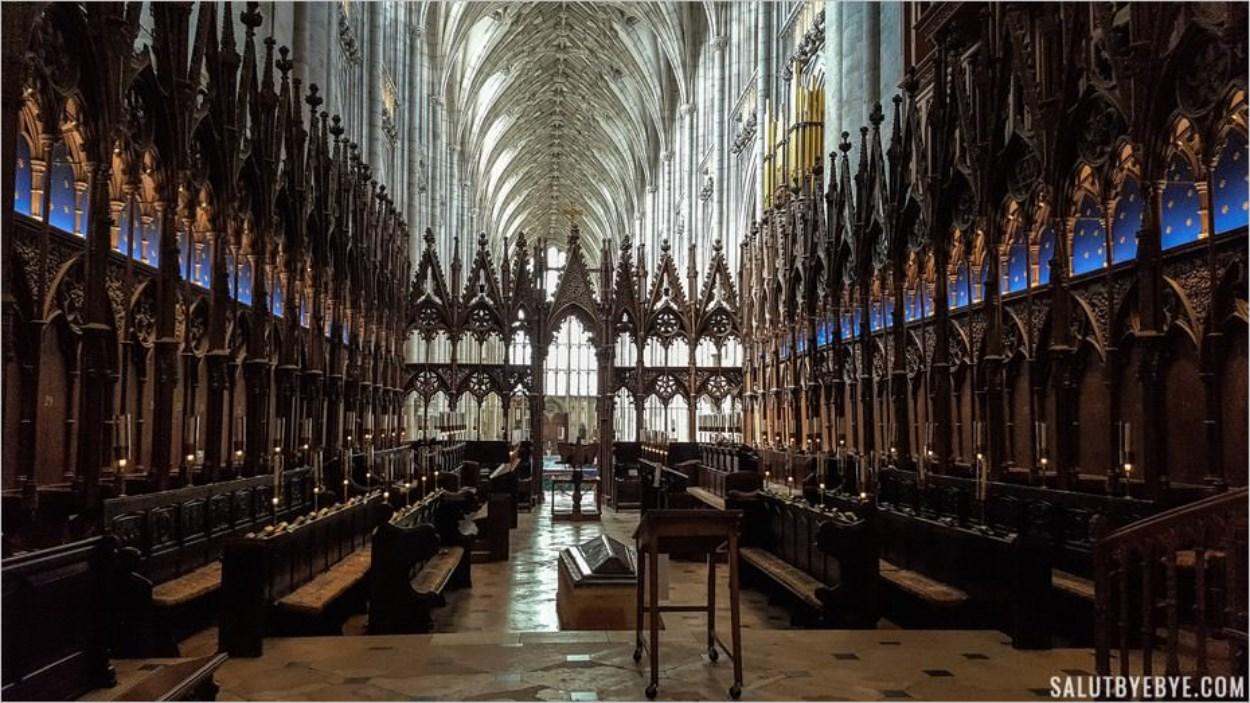 Chœur de la cathédrale de Winchester