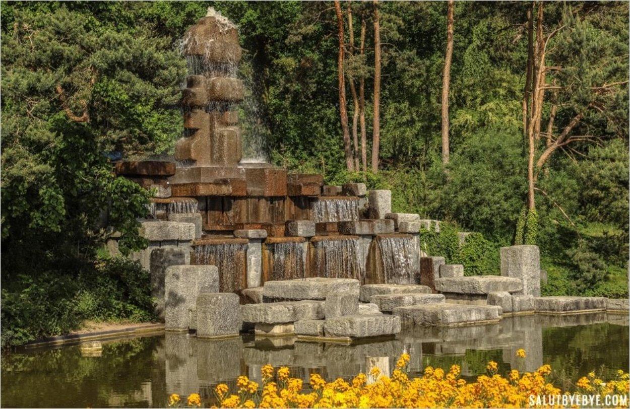 La Fontaine Stahly dans le Parc Floral