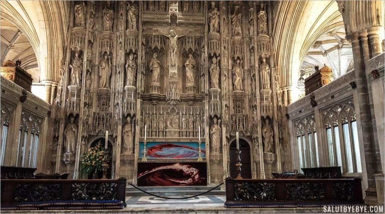 Le Maître-Autel - High Altar - de Winchester