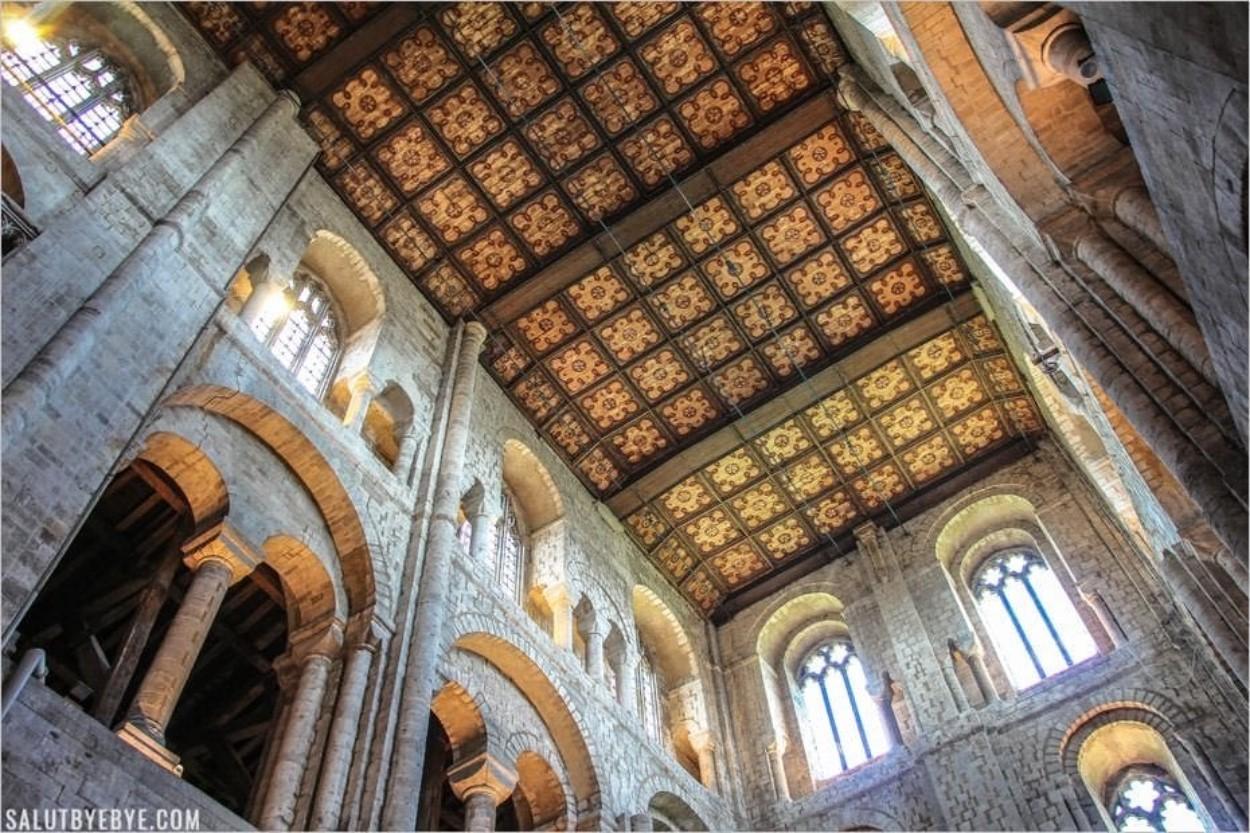 Le Transept Nord de la cathédrale de Winchester