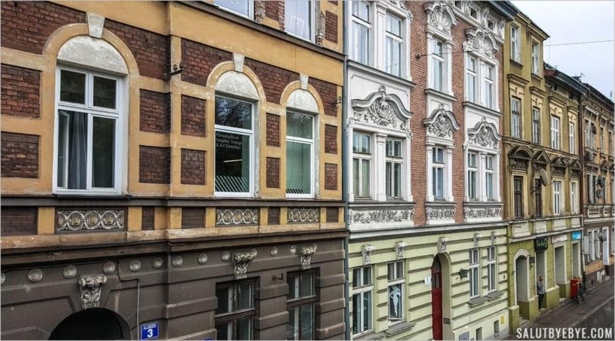 Architecture de Podgorze - Rue Celna