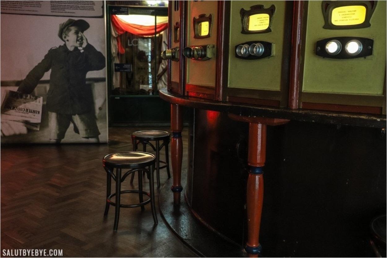 Usine d'Oskar Schindler à Cracovie - Le stéréoscope