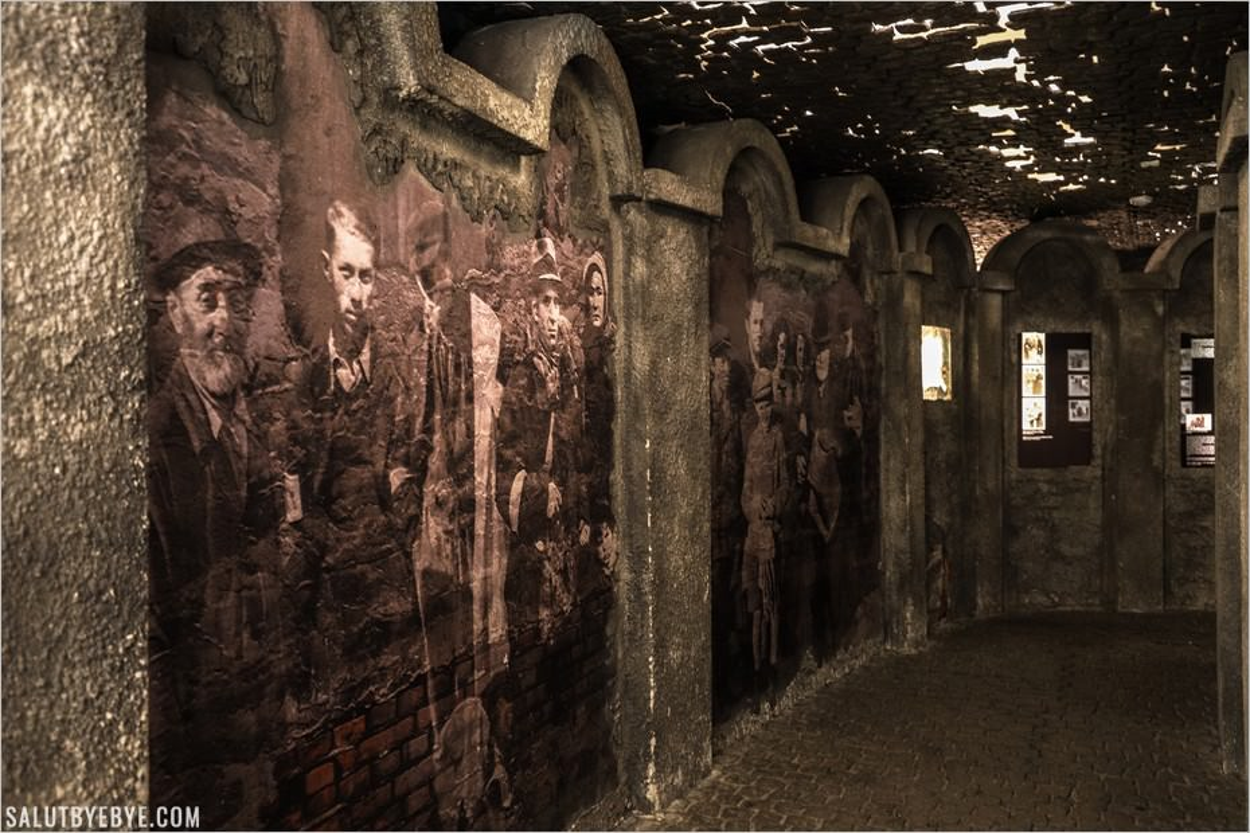 Ghetto de Cracovie dans le musée Oskar Schindler
