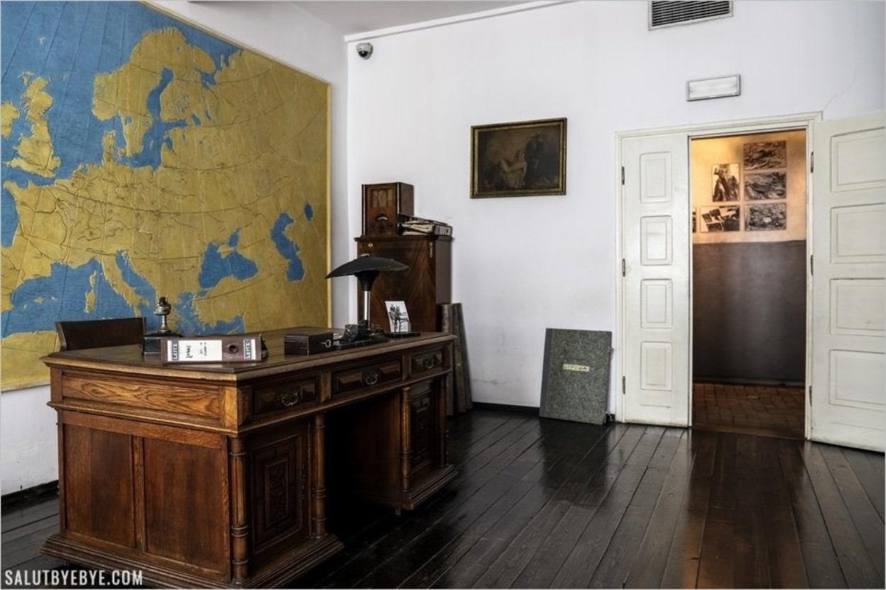 Bureau de Schindler dans son ancienne usine