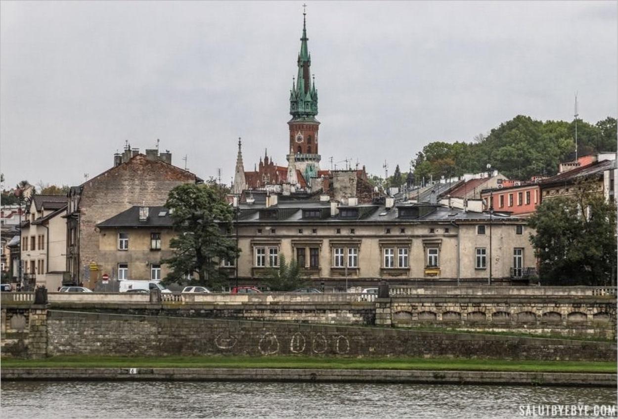 Le quartier de Podgorze à Cracovie