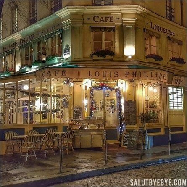 Café-Restaurant Louis Philippe à Paris