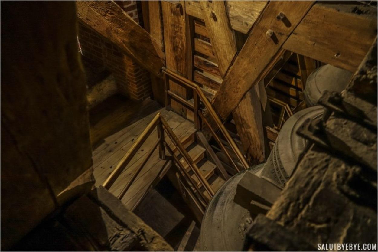 Dans le clocher de la cathédrale du Wawel
