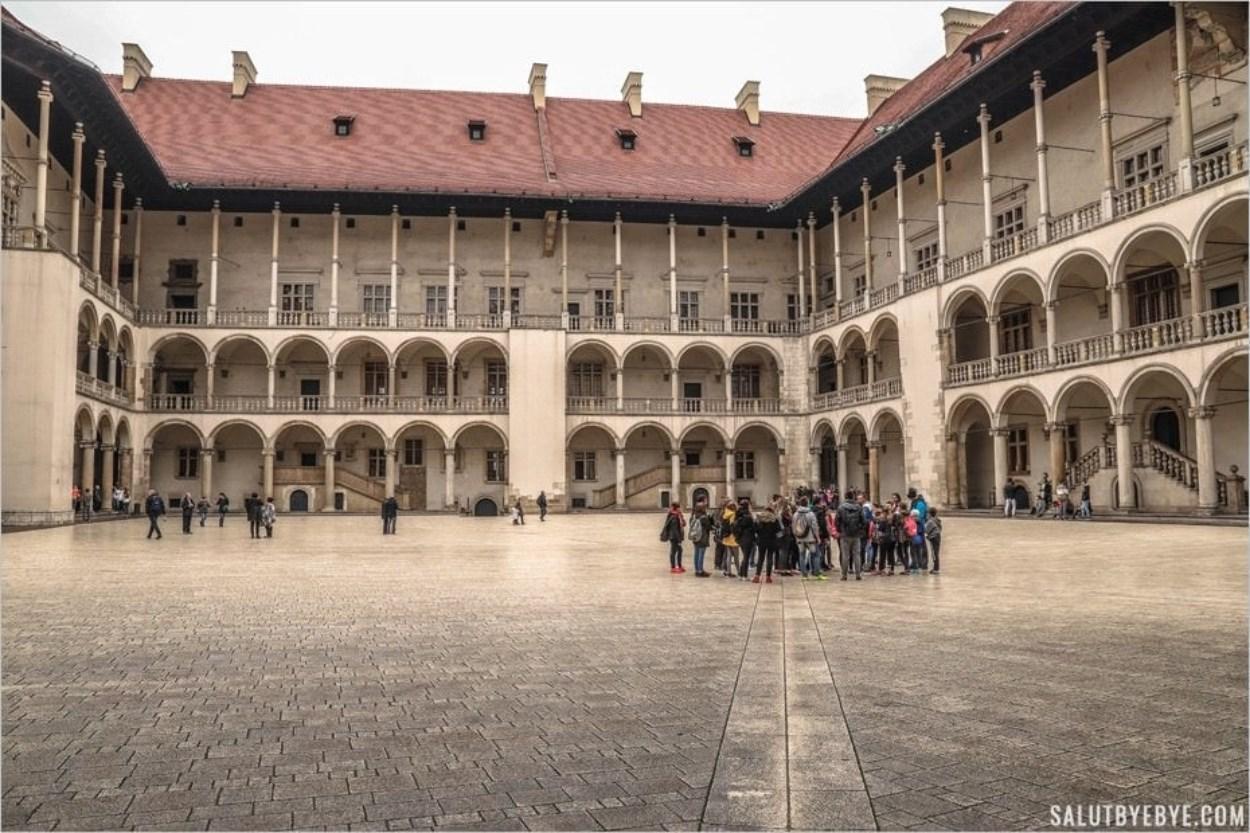 Cour Sigismond Le Vieux au château de Cracovie