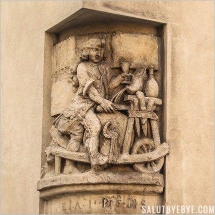 L'enseigne du rémouleur à Paris