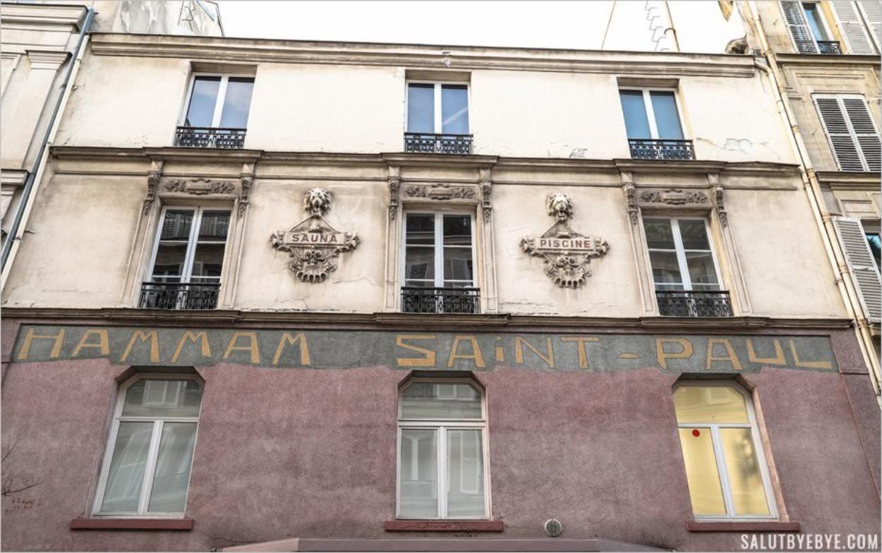 Hammam-sauna Saint-Paul dans le quartier Saint-Gervais à Paris