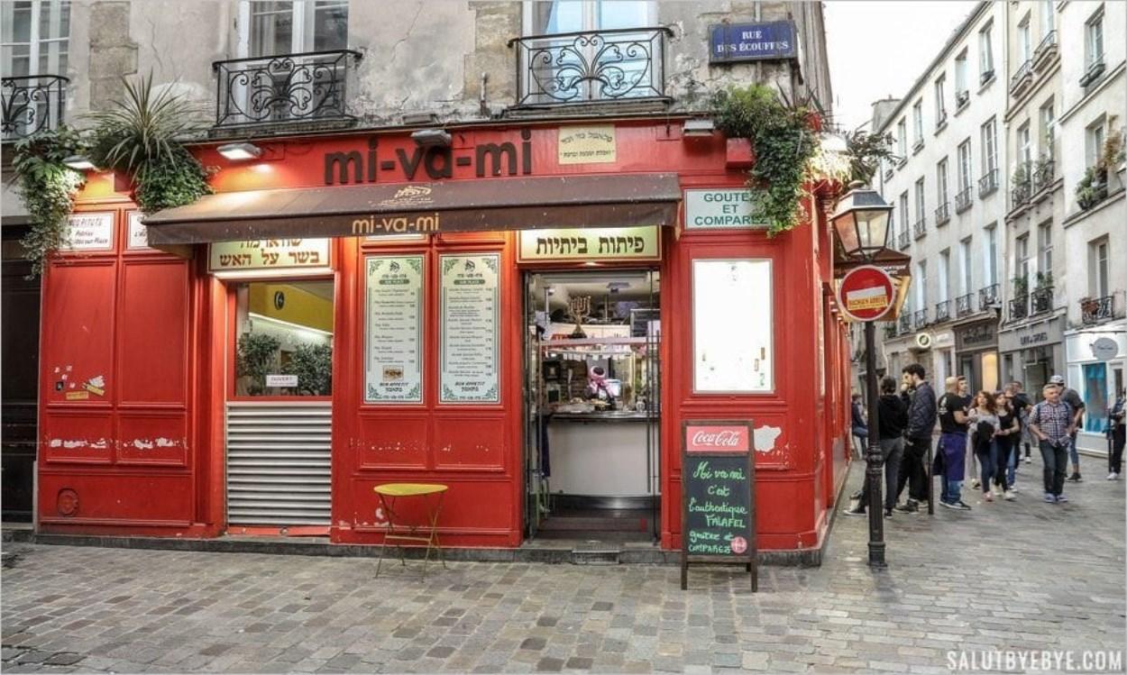 Restaurant juif dans le Marais à Paris