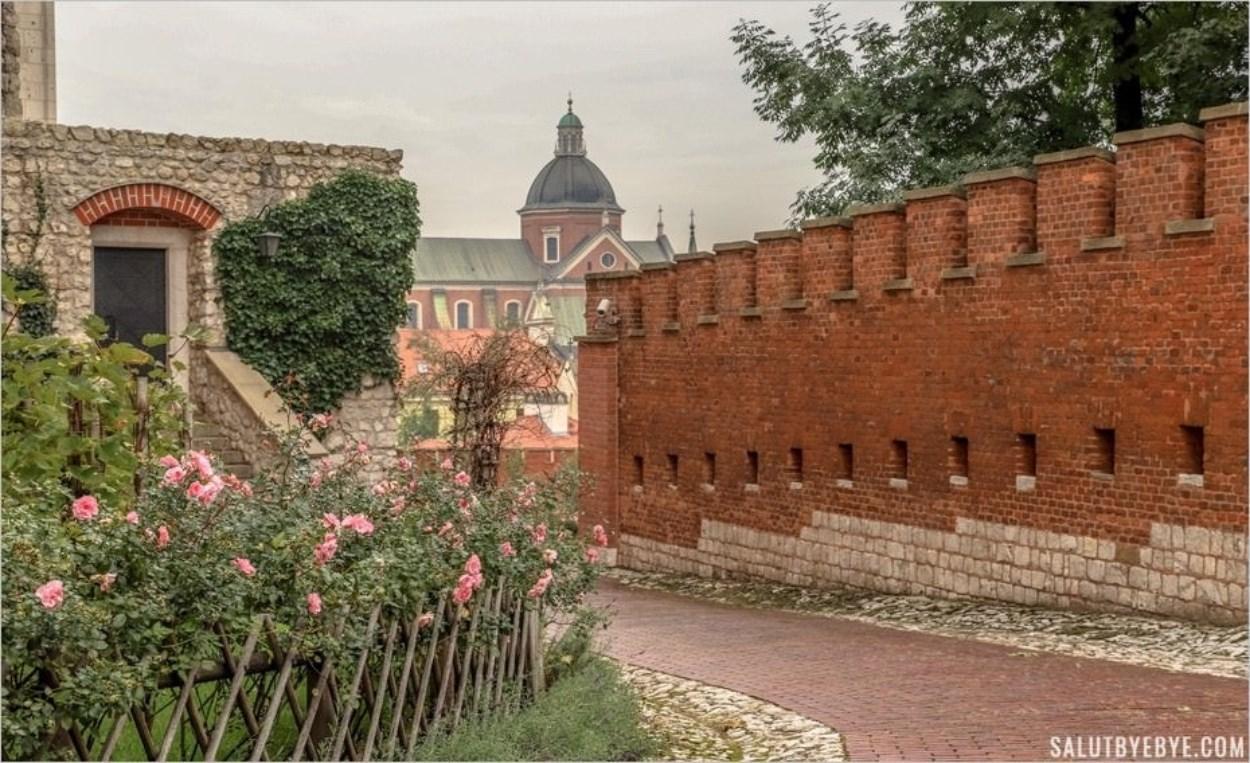 Remparts sur la colline du Wawel