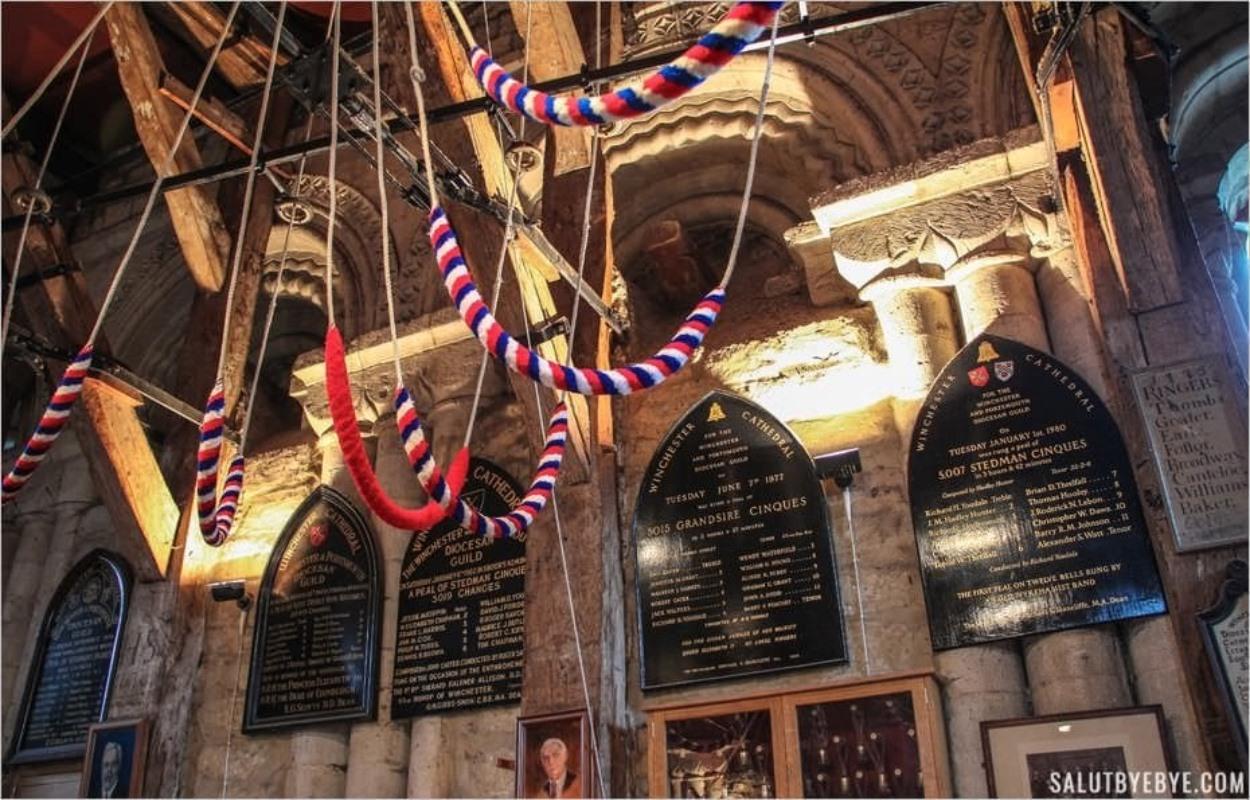 La salle où l'on sonne les cloches de Winchester