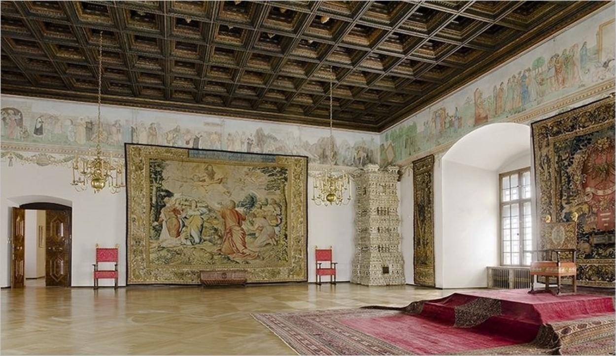 Intérieur du château du Wawel à CracovieIntérieur du château du Wawel à Cracovie
