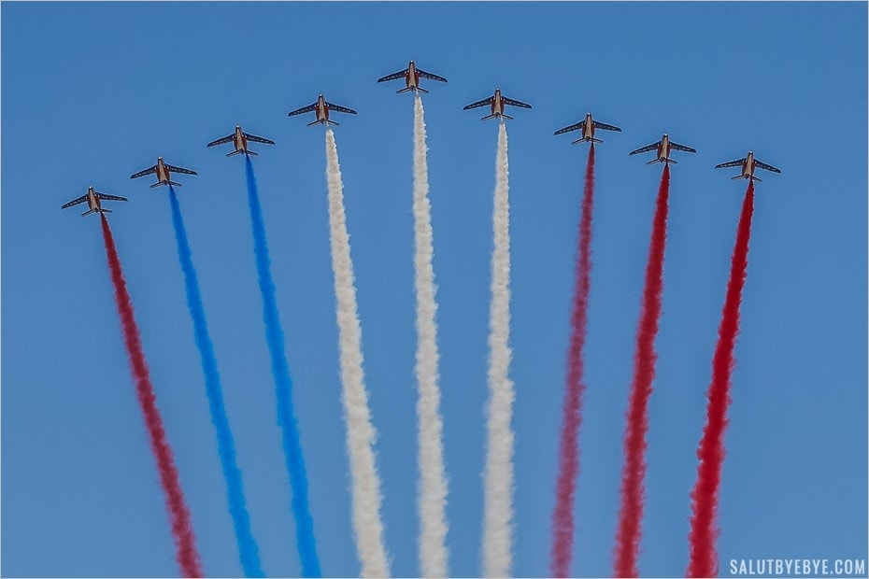 Patrouille de France - Défilé du 14 juillet