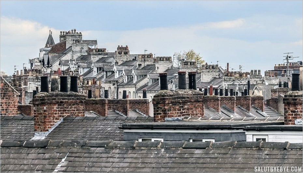 Les toits de York, Yorkshire