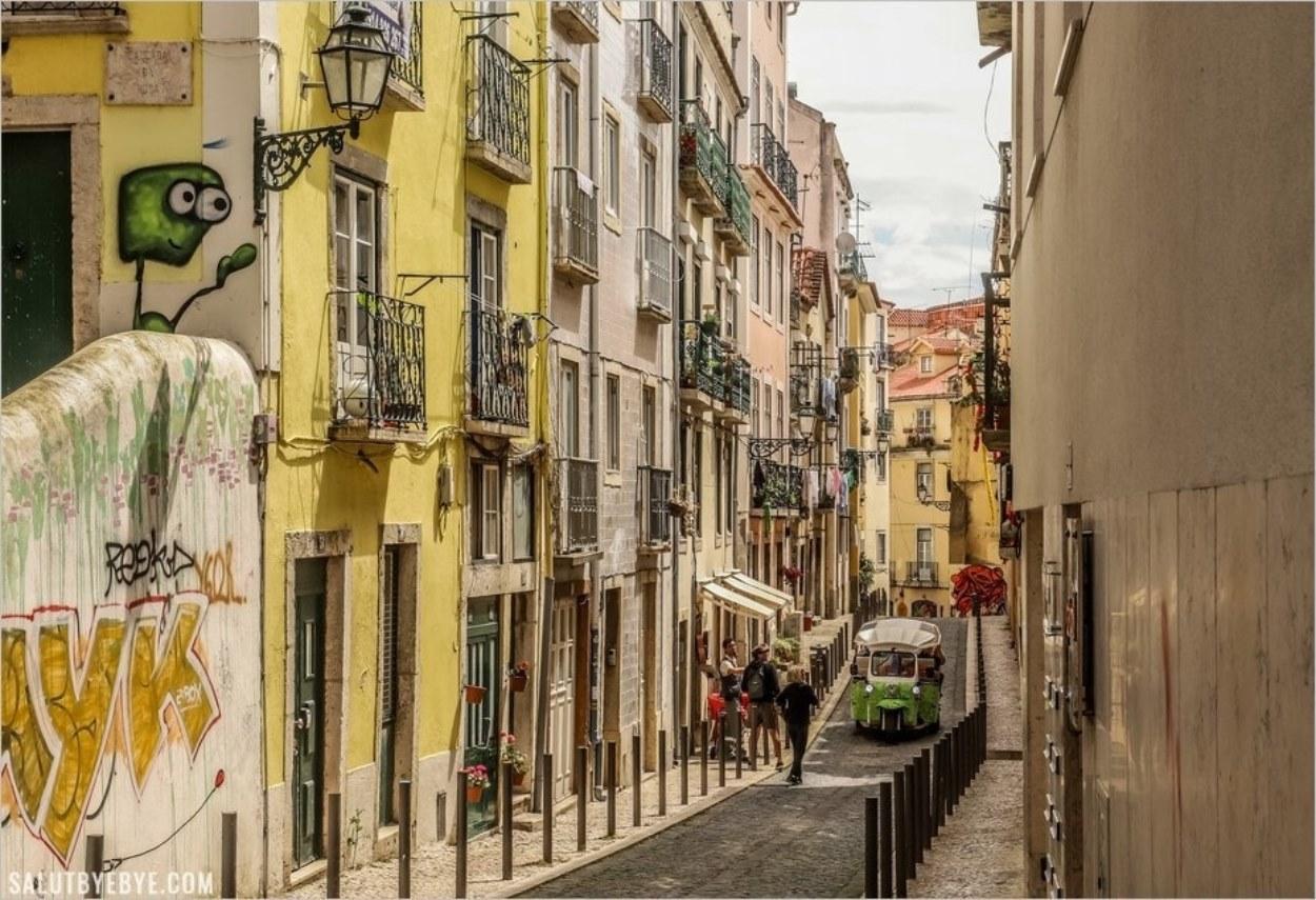 Une rue de Lisbonne