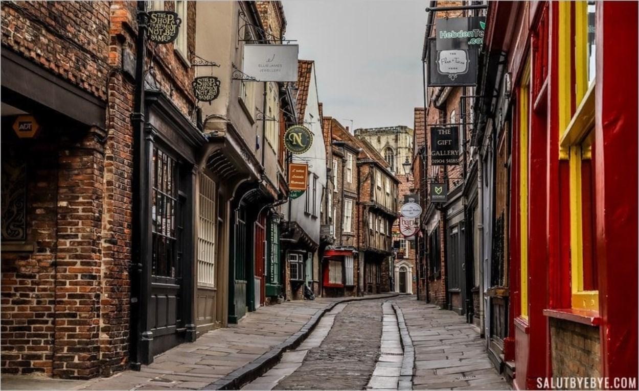 The Shambles à York