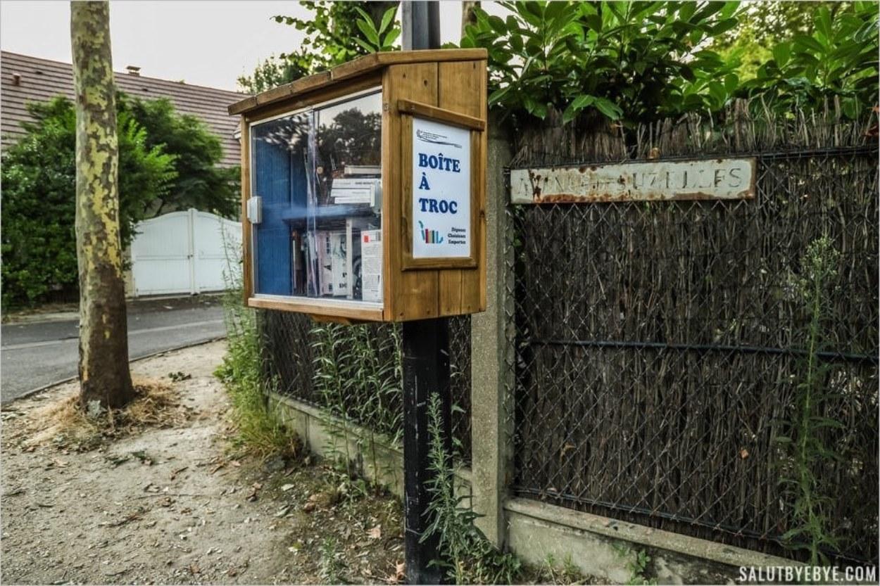 Une Boîte à Troc sur les îles de Créteil
