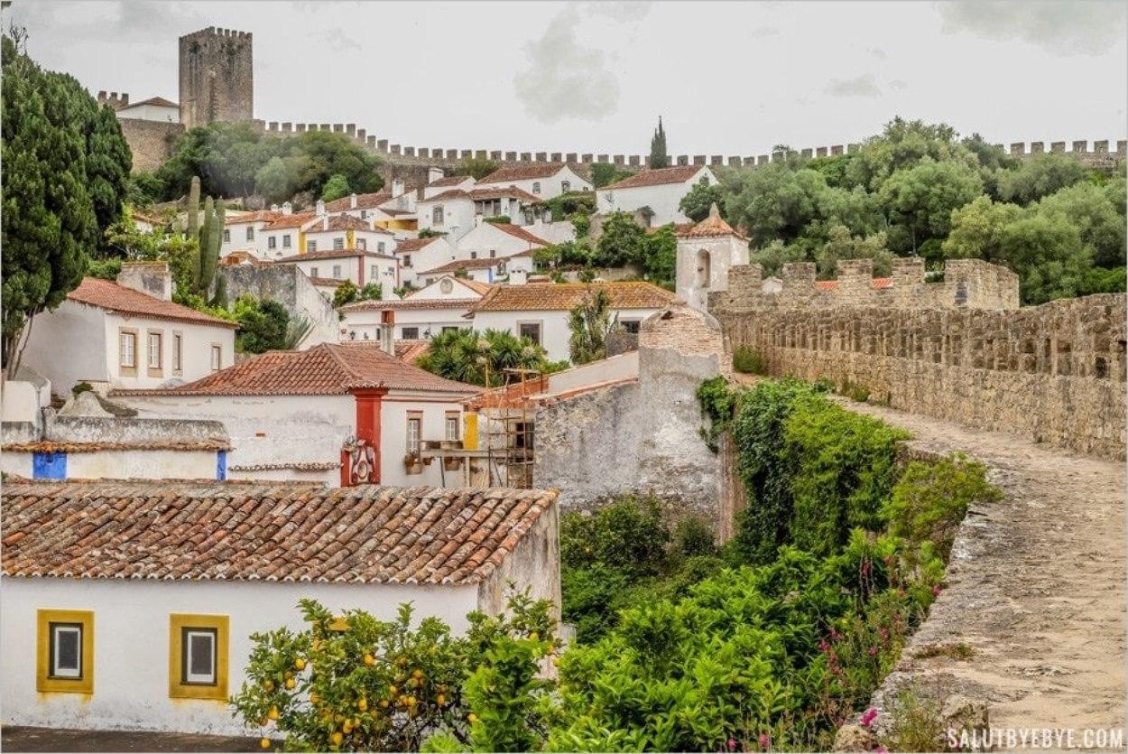 La jolie Obidos, une ville sympa proche de Lisbonne à visiter