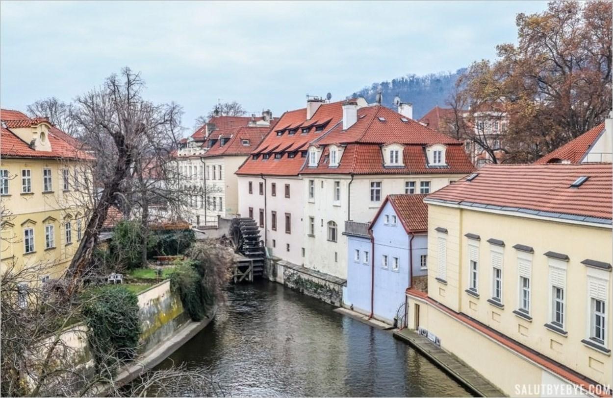 Le canal du Diable à Prague