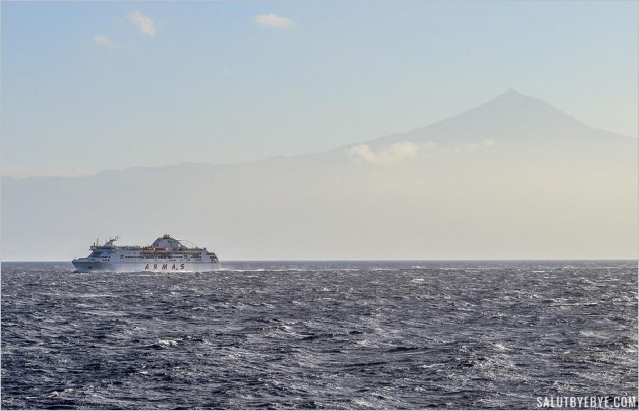 Volcan de Taburiente, le ferry de Naviera Armas entre Tenerife et La Gomera