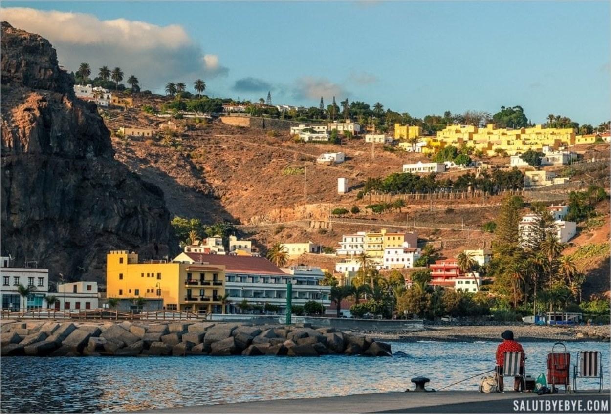 Port de Playa de Santiago