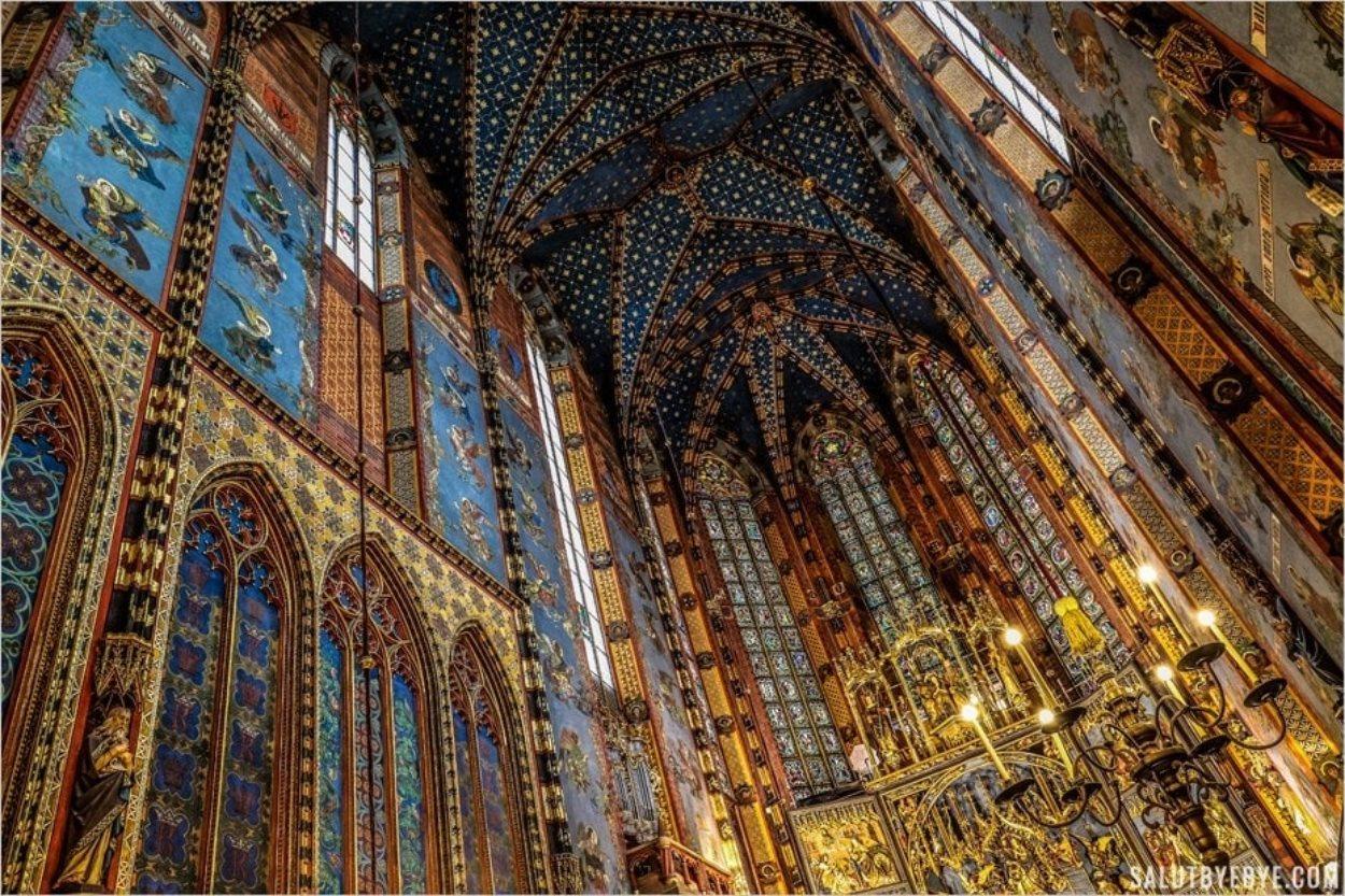 La basilique Sainte-Marie de Cracovie, lieu aux mille légendes
