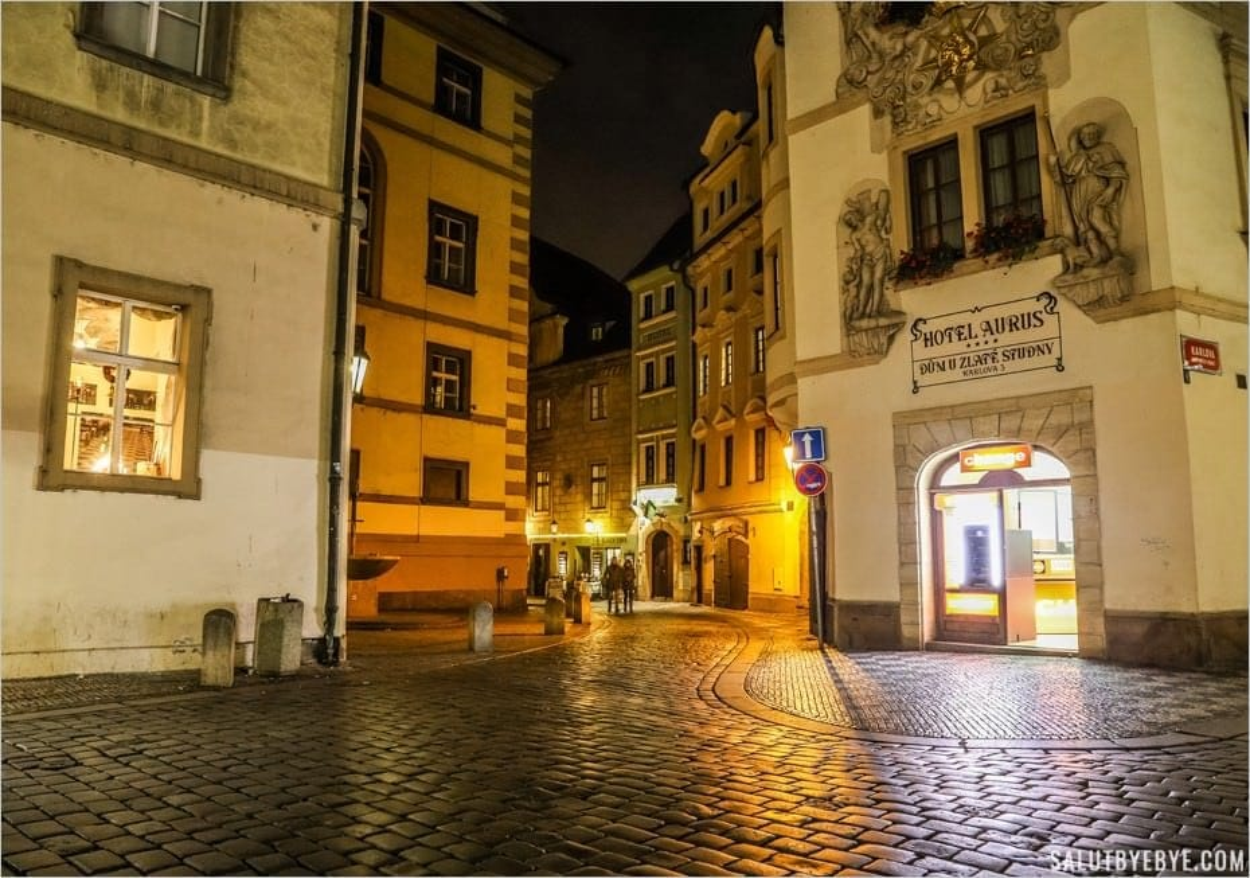 La rue Karlova de Prague