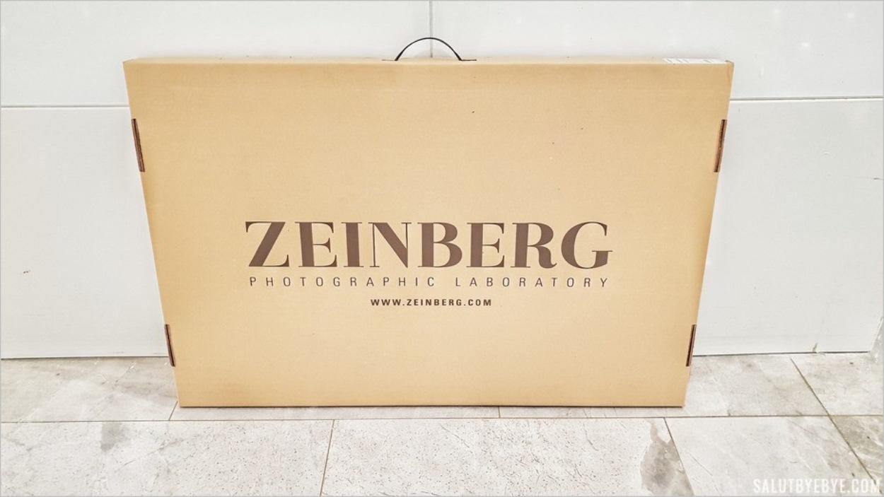Emballage pour le tirage photo haut de gamme de Zeinberg