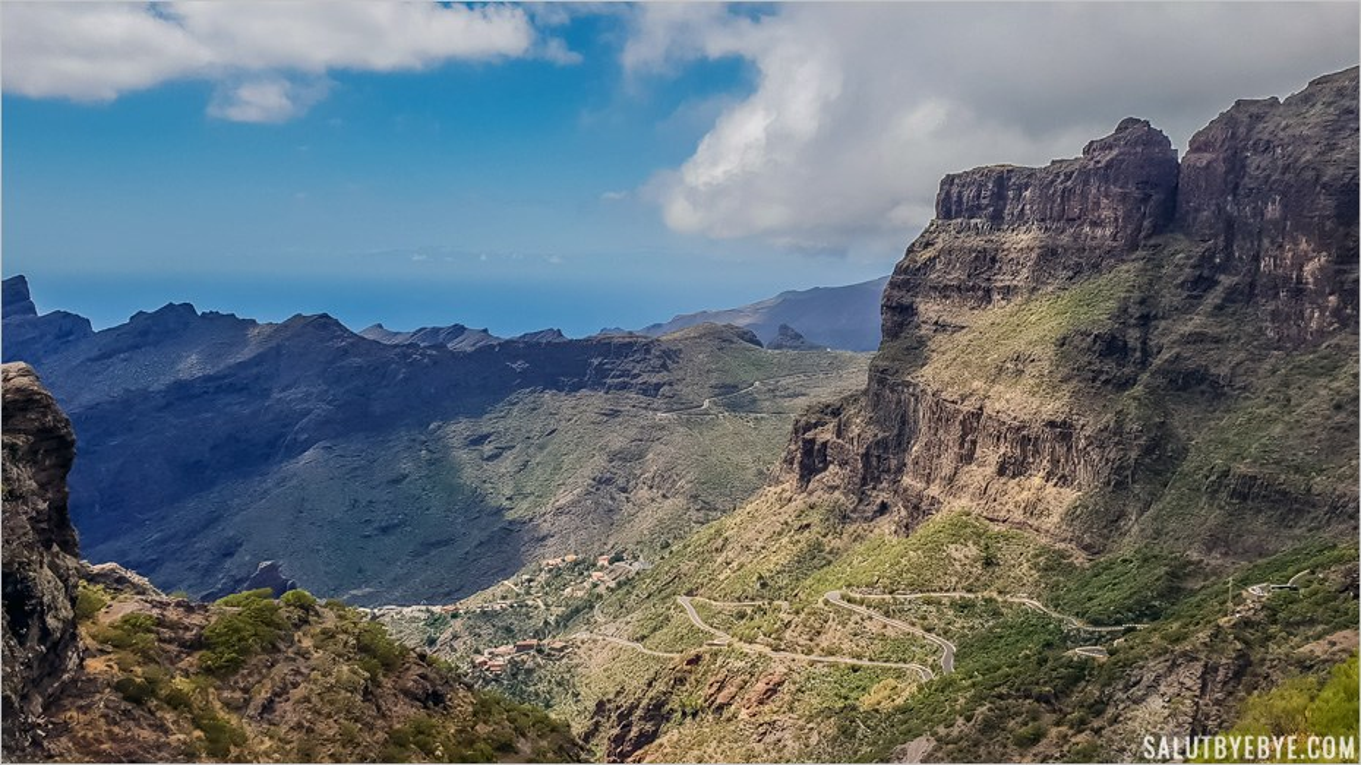 Îles des Canaries - Vallée de Masca, Tenerife