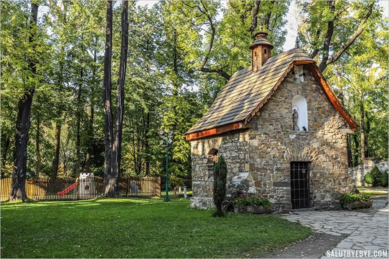La chapelle du vieux cimetière de Zakopane - Kaplica Gasienicow