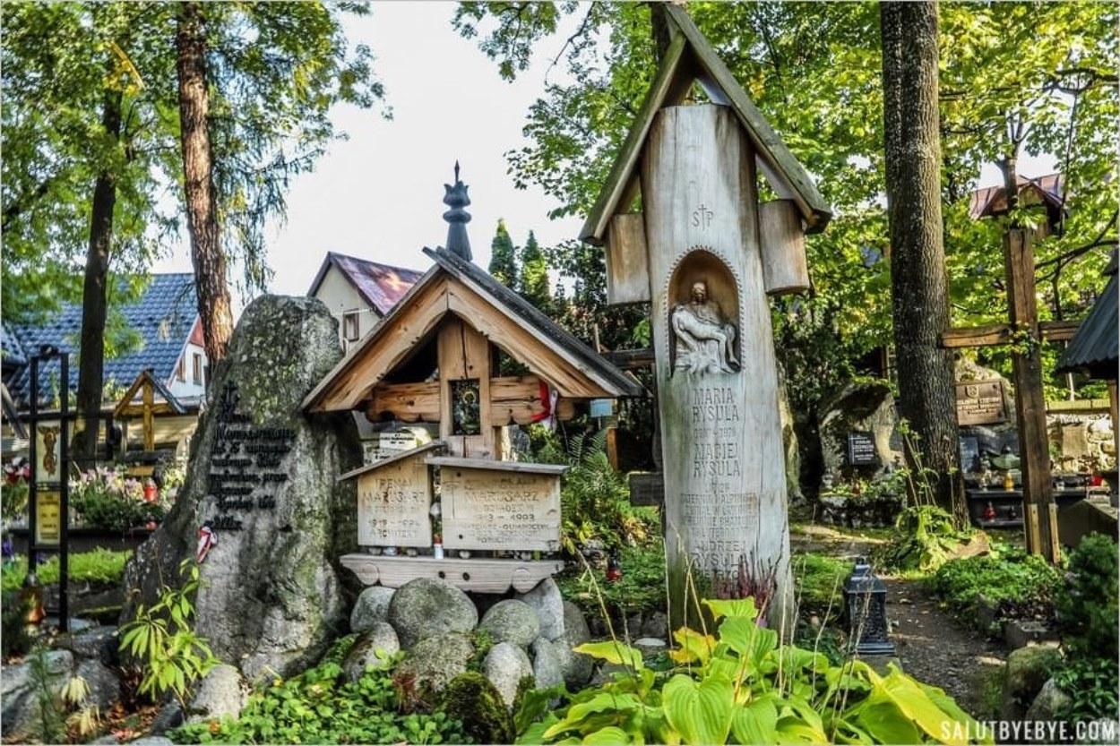 La tombe des Marusarz à Peksowy Brzyzek, Zakopane