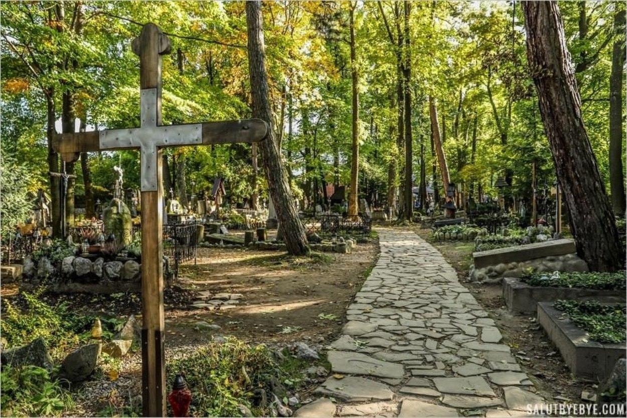 Visite du cimetière de Zakopane