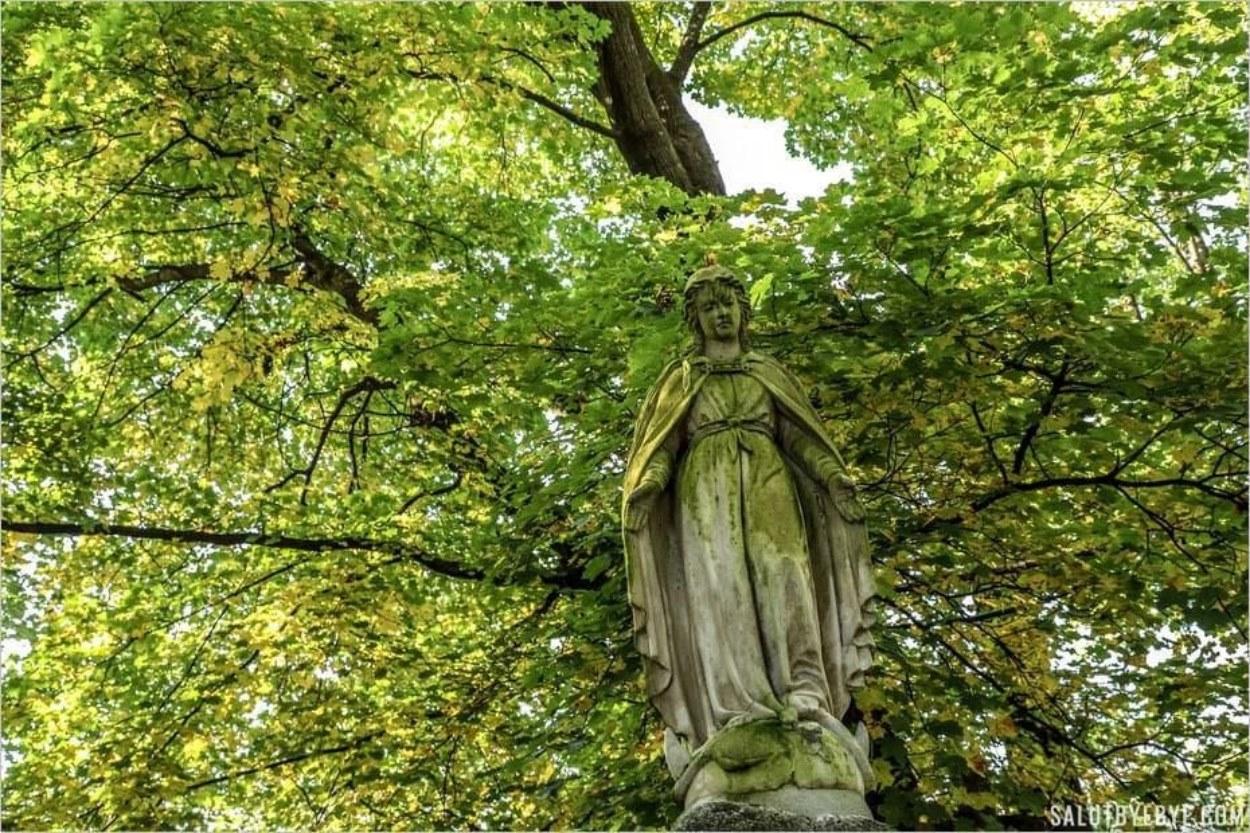 Le vieux cimetière de Zakopane en Pologne