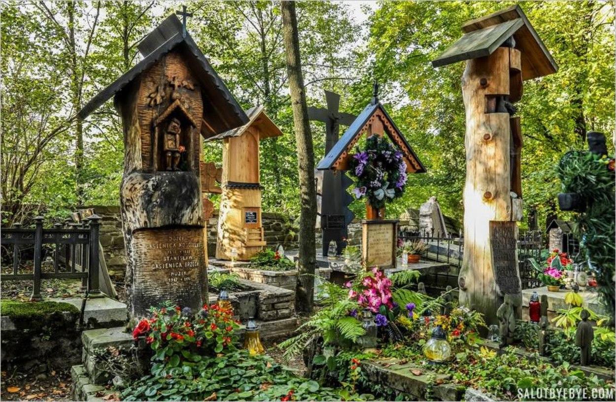 Le vieux cimetière de Zakopane, Peksowy Brzyzek, un endroit étonnant en Pologne