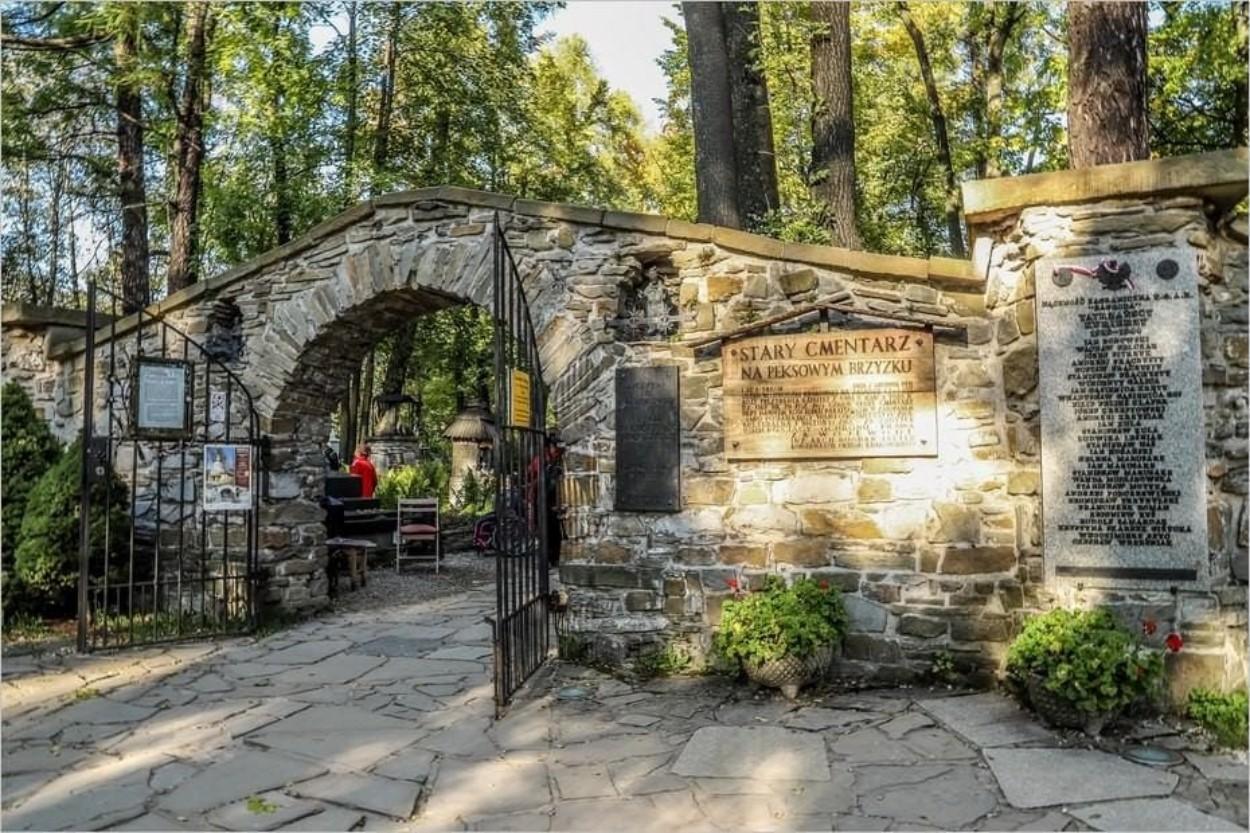 Entrée du cimetière de Zakopane