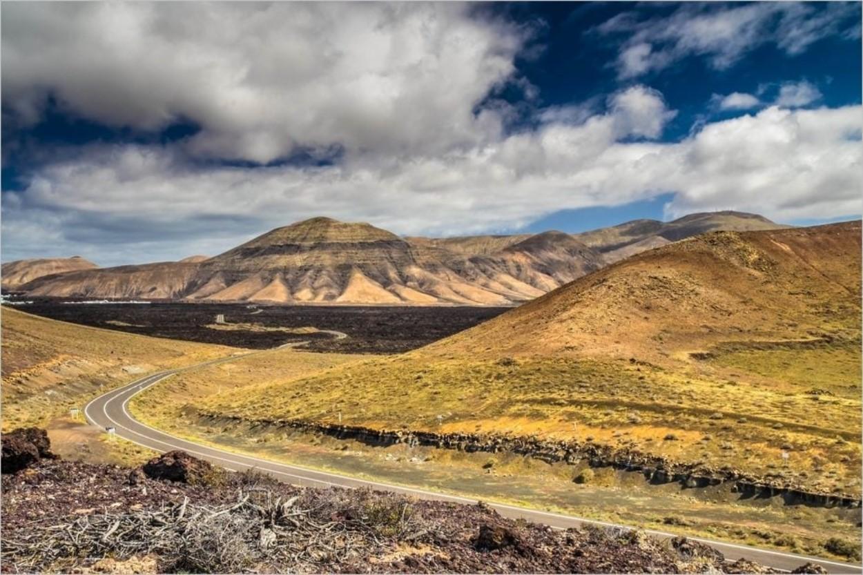 Route des volcans, Lanzarote