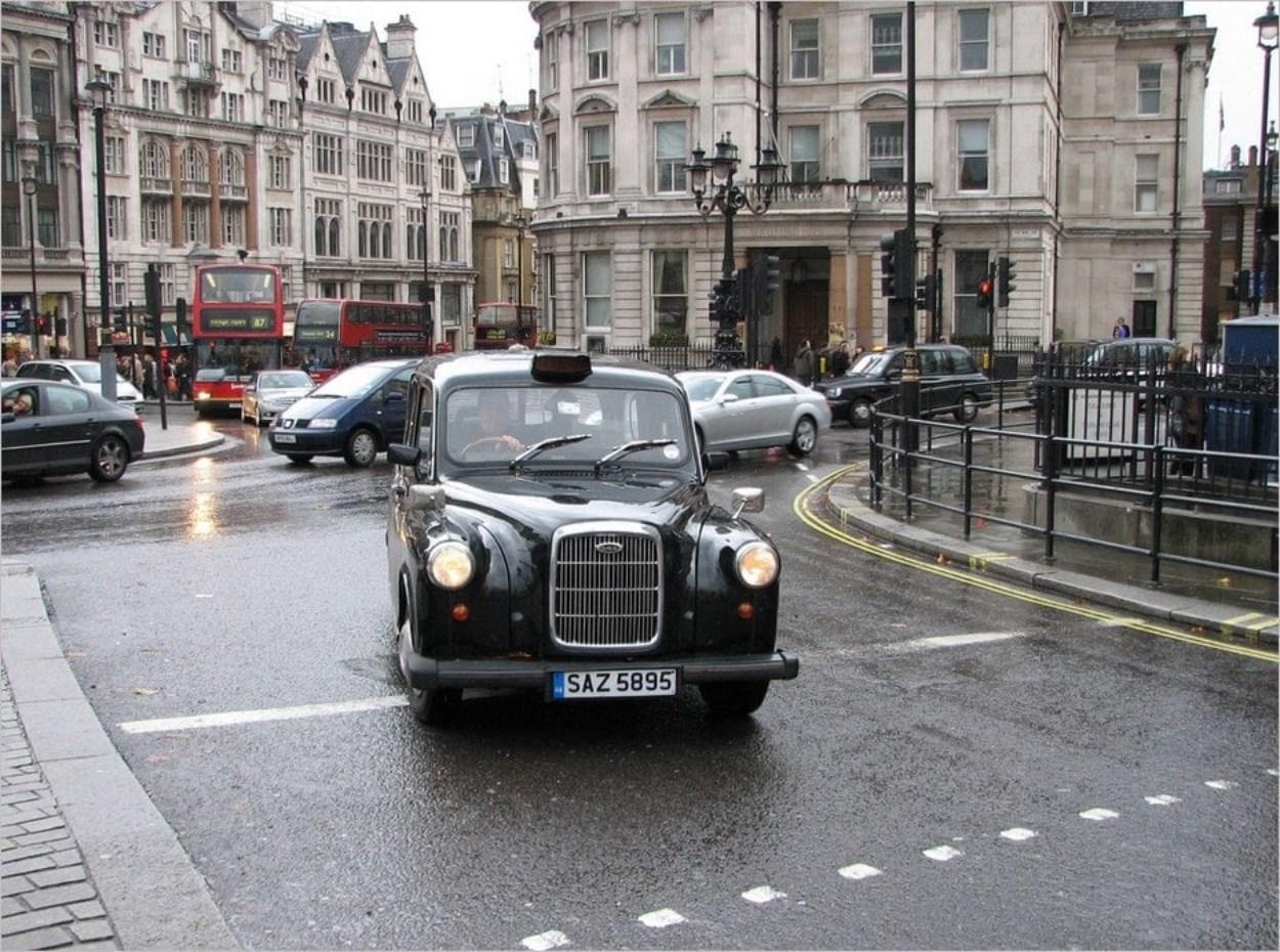 Les taxis anglais noirs