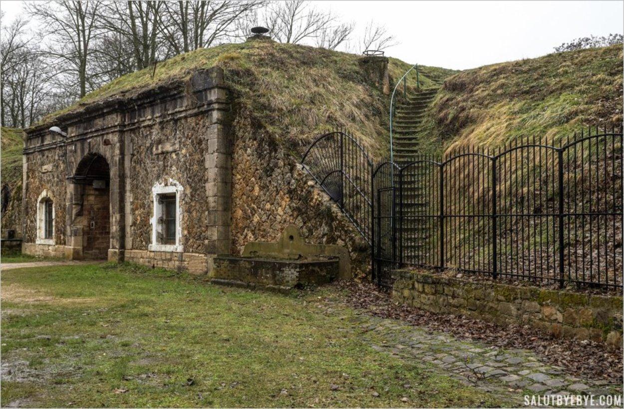 Les bureaux du commandement du Fort de Sucy