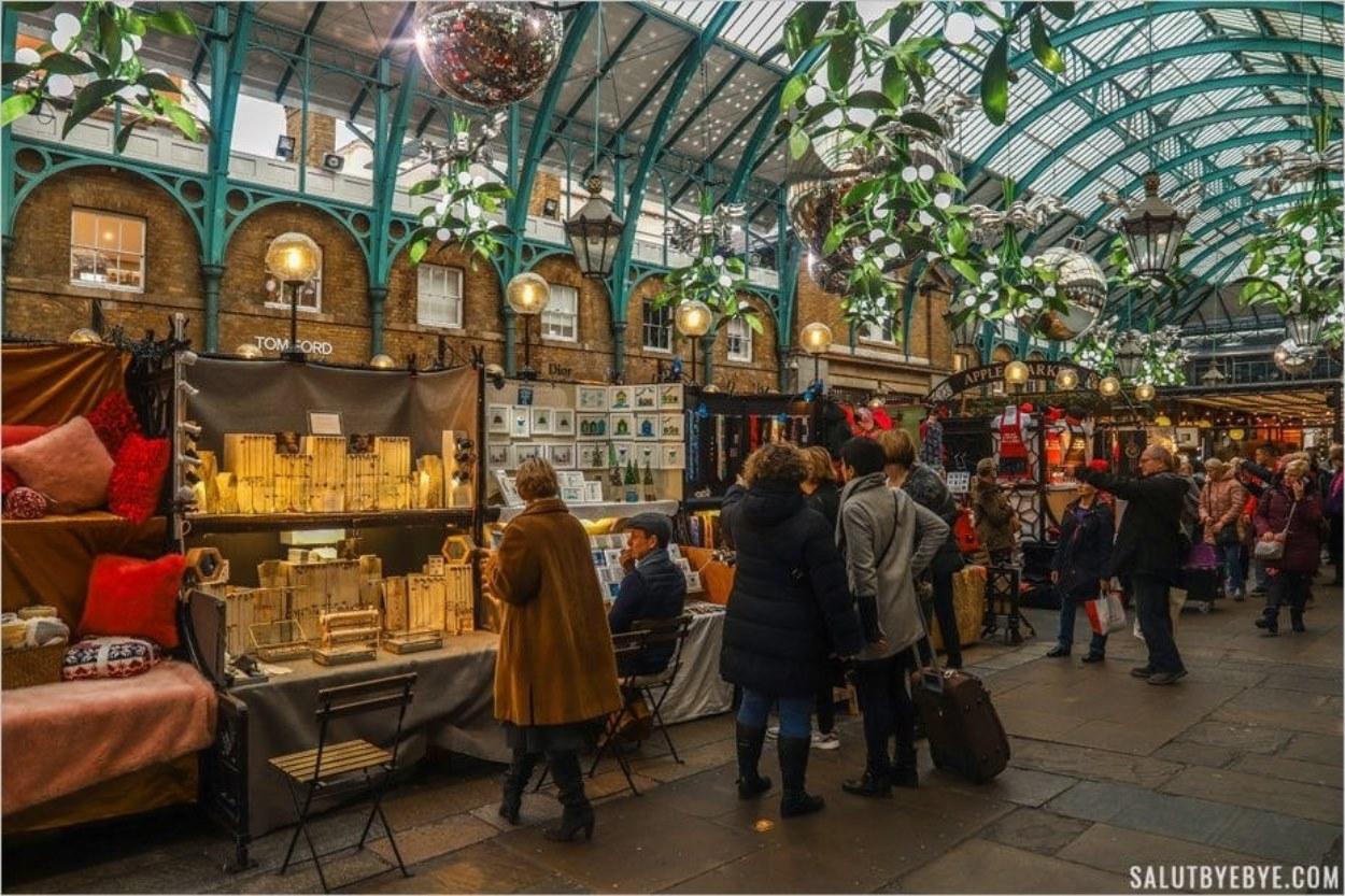 Marché de Covent Garden à Londres