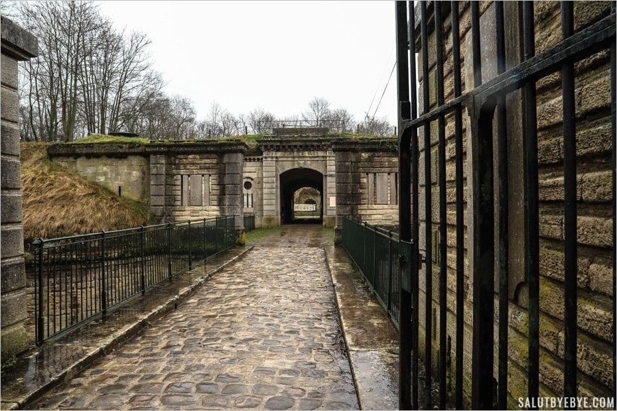 Entrée du Fort de Sucy - Val-de-Marne