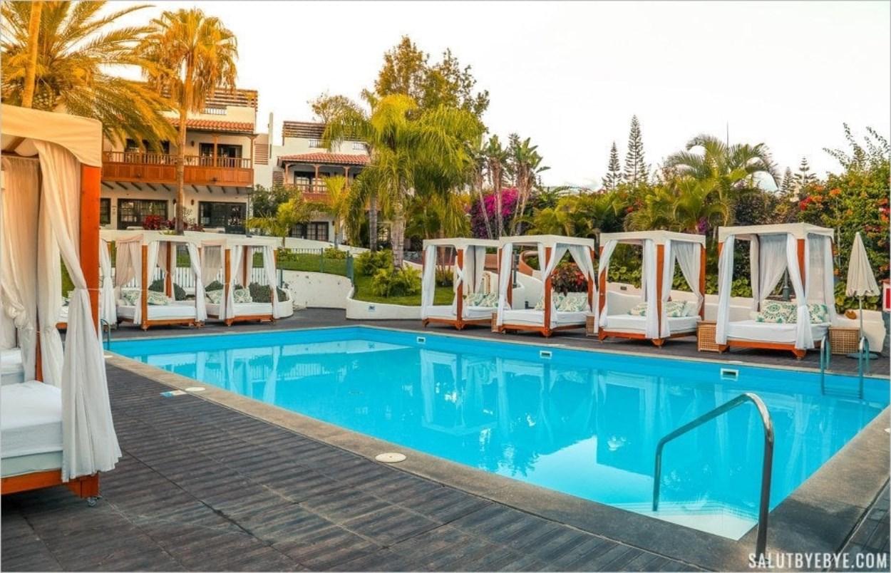 Piscine de l'hôtel Jardin Tecina, La Gomera